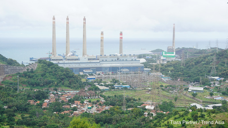 Surayala coal-fired power plant Indonesia - Credit Trend Asia Tiara Pertiwi